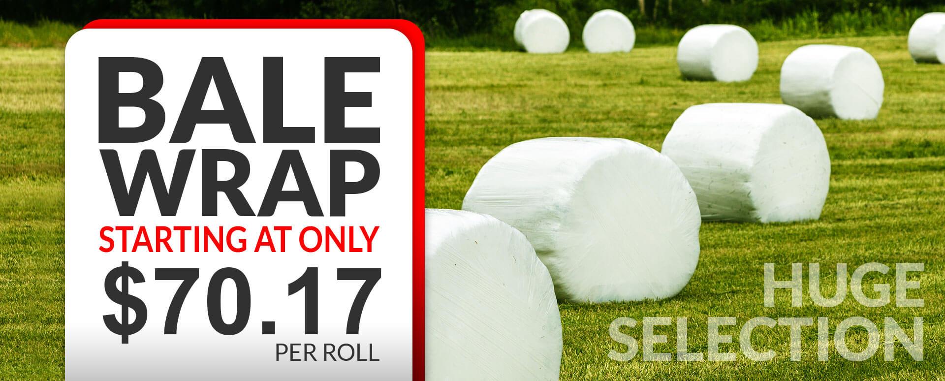 KSI Supply - Bale Wraps Huge Selection